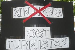 no xinjiang yes east turkistan dogu turkistan